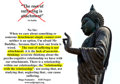 Despite Plenty of Gurus Preach It; There Is No Such Thing As Detachment...